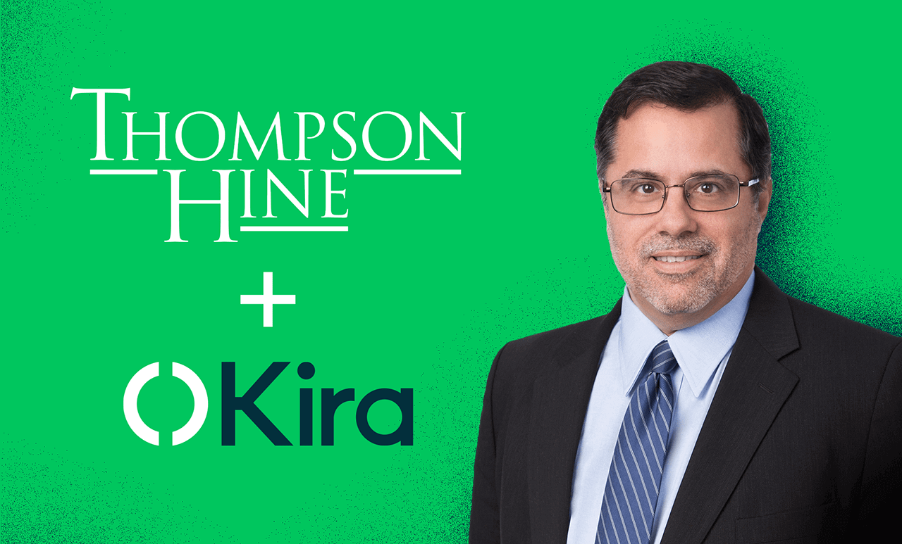 Read more about Thompson Hine Leverages AI Platform Kira as Part of its Focus on Continuous Innovation
